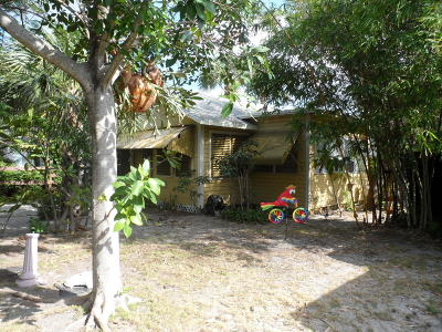 Lake Worth Single Family Home For Sale: 322 K Street