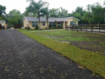 West Palm Beach Single Family Home For Sale: 4390 130th Avenue