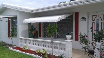 Boynton Beach FL Single Family Home For Sale: $139,000