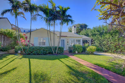 Palm Beach County Single Family Home Contingent: 1120 Nassau Street