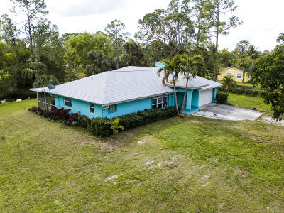 West Palm Beach Single Family Home For Sale: 12610 55th Road