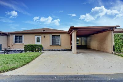 Delray Beach Single Family Home For Sale: 14916 Wildflower Lane