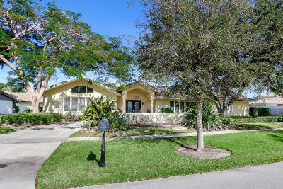 Boca Raton Single Family Home For Sale: 7227 Encina Lane