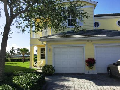 Fort Pierce Townhouse For Sale: 1406 Mariner Bay Boulevard