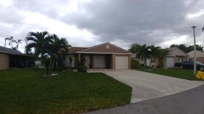 Boca Raton Single Family Home For Sale: 8411 Garden Gate Place