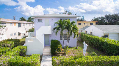 Lake Worth Multi Family Home For Sale: 210 Ocean Breeze #1