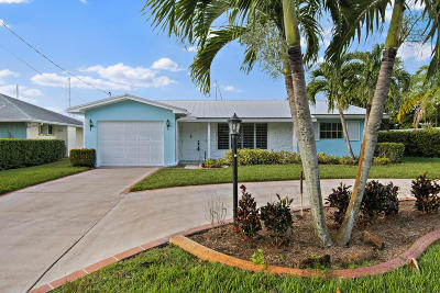 Palm City Single Family Home For Sale: 1669 SW Dyer Point Road