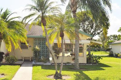 Delray Beach Single Family Home For Sale: 14260 Nesting Way #D