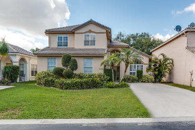 Lake Worth Single Family Home For Sale: 6788 Coral Reef Street
