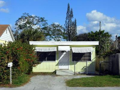 Lake Worth Single Family Home For Sale: 608 E Street