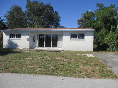 Lake Worth Single Family Home For Sale: 435 Seminole Drive