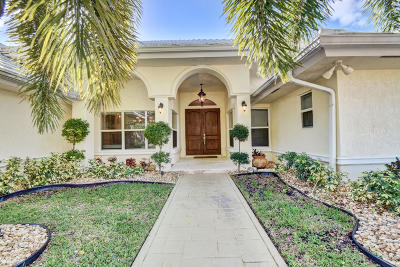 Boca Raton Single Family Home For Sale: 4183 Bocaire Boulevard