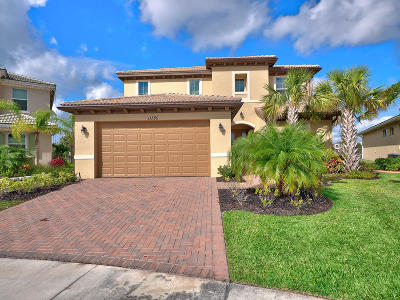 Port Saint Lucie Single Family Home For Sale: 11380 SW Reston Court