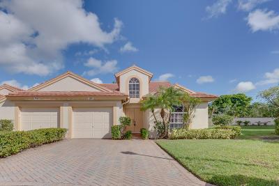 Delray Beach Single Family Home For Sale: 7519 Diamond Pointe Circle