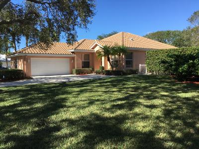 Jupiter Single Family Home For Sale: 159 Hampton Circle