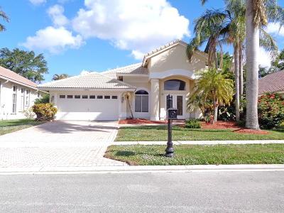 Boca Raton Single Family Home For Sale: 19922 Dinner Key Drive