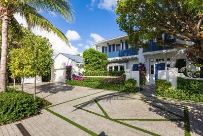Palm Beach Single Family Home For Sale: 135 Seagate Road