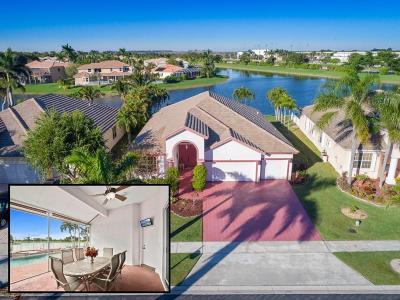Boca Raton Single Family Home For Sale: 12403 Cascades Pointe Drive