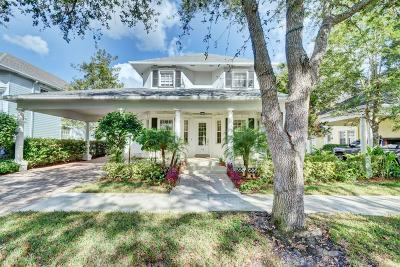 Jupiter Single Family Home For Sale: 114 Sweet Bay Circle