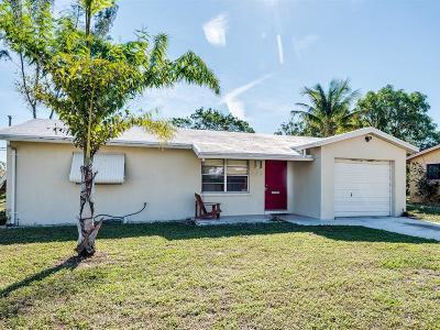 Boynton Beach Single Family Home For Sale: 446 NW 1st Avenue