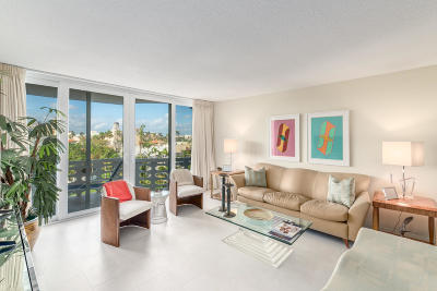 Palm Beach Condo For Sale: 130 Sunrise Avenue #518