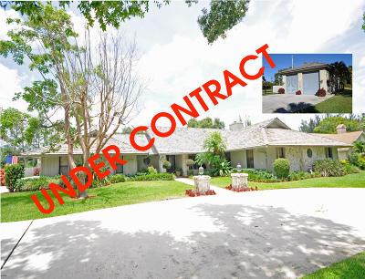 Wellington Single Family Home For Sale: 14894 Horseshoe Trace