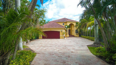 Lake Worth Single Family Home For Sale: 10 Intracoastal Way