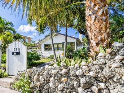 Lake Worth Single Family Home For Sale: 325 S Palmway