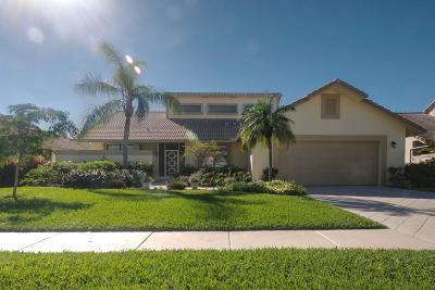 Boca Raton Single Family Home For Sale: 10128 Canoe Brook Circle