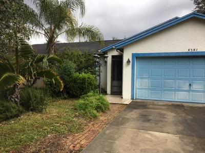 Port Saint Lucie Single Family Home For Sale: 4581 SW Image Drive