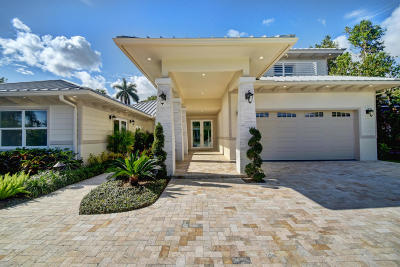 Delray Beach Single Family Home For Sale: 1400 Lake Drive