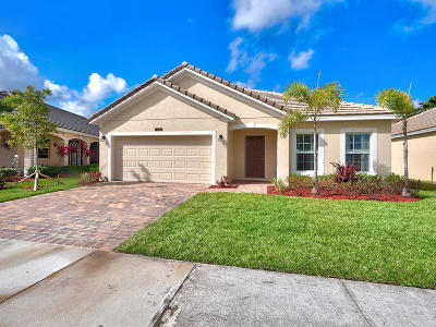 Port Saint Lucie Single Family Home For Sale: 11626 SW Rowena Street