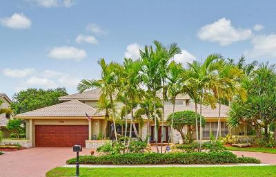 Boca Raton Single Family Home For Sale: 7204 Mandarin Drive