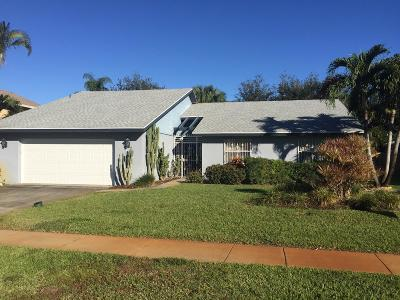 West Palm Beach Single Family Home For Sale: 862 Ryanwood Drive