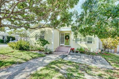 Lake Worth Single Family Home For Sale: 1101 M Street