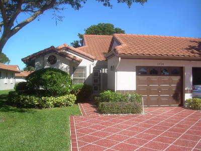 Delray Beach Single Family Home For Sale: 6434 Pointe Pleasant Circle