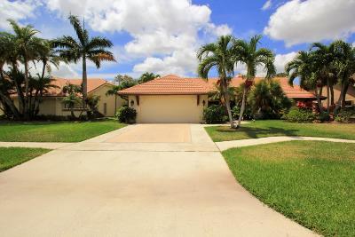 Boca Raton Single Family Home For Sale: 10926 Boca Woods Lane
