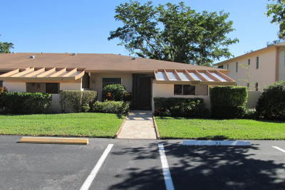 Delray Beach Single Family Home For Sale: 5800 Princess Palm Court #C