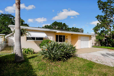 Lake Worth Single Family Home For Sale: 511 C Street