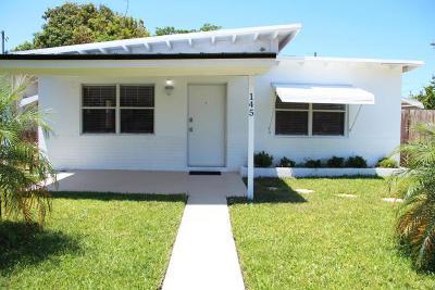 Boynton Beach Single Family Home For Sale: 145 SE 8th Avenue