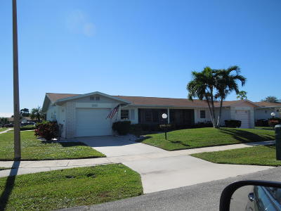 Delray Beach FL Single Family Home For Sale: $159,900