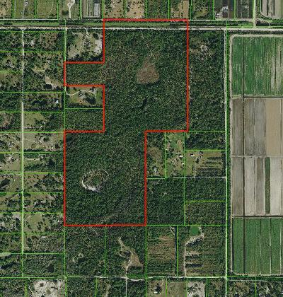 Palm Beach County Residential Lots & Land For Sale: 20500 59th Lane