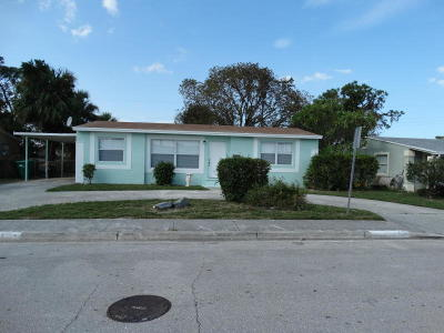West Palm Beach Single Family Home For Sale: 908 W 1st Street