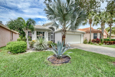 Delray Beach Single Family Home For Sale: 13630 Windy Monterey Trail