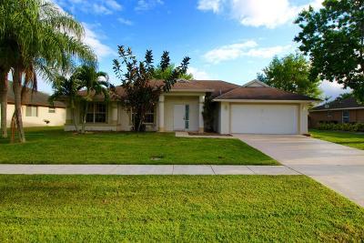 Wellington Single Family Home For Sale: 13817 Norwick Street