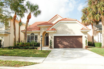 Palm Beach Gardens Single Family Home For Sale: 106 Princewood Lane