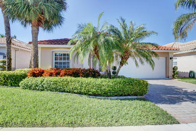 Boynton Beach FL Single Family Home For Sale: $347,500
