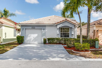 Coconut Creek Single Family Home For Sale: 5842 Eagle Cay Lane