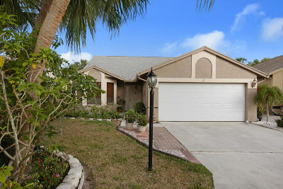 Boca Raton Single Family Home For Sale: 8595 Jared Way