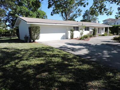 Jupiter Single Family Home For Sale: 18730 Rio Vista Drive